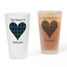 Heart - MacLaren Drinking Glass