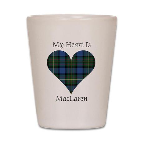 Heart - MacLaren Shot Glass