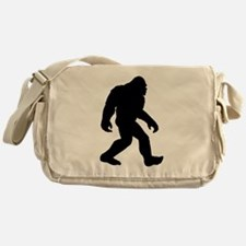 Bigfoot Silhouette Messenger Bag