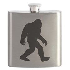 Bigfoot Silhouette Flask