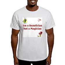 Beautician Ash Grey T-Shirt