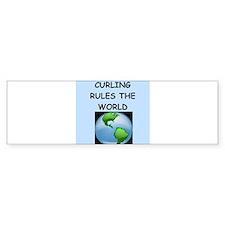 curling Bumper Bumper Sticker