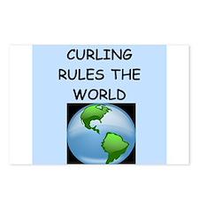curling Postcards (Package of 8)