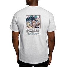 Wanna know? Ash Grey T-Shirt