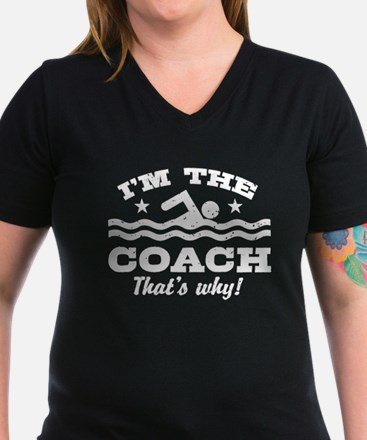 Funny Swim Coach Shirt