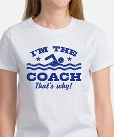 Funny Swim Coach Women's T-Shirt