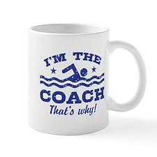 Funny Swim Coach Mug