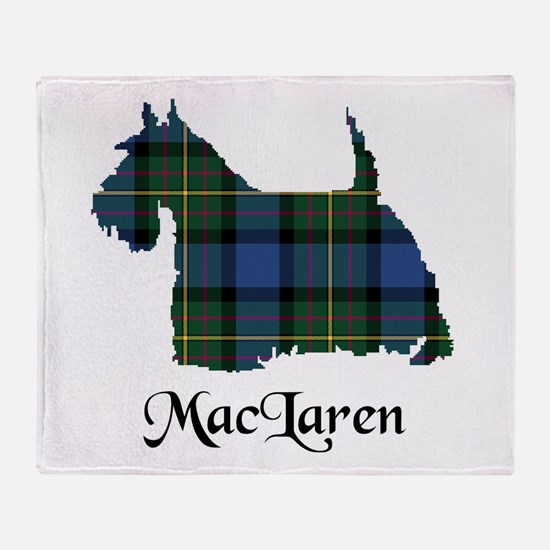 Terrier - MacLaren Throw Blanket