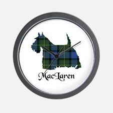 Terrier - MacLaren Wall Clock