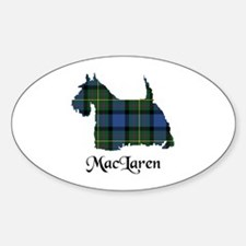 Terrier - MacLaren Sticker (Oval)
