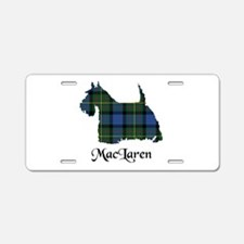 Terrier - MacLaren Aluminum License Plate
