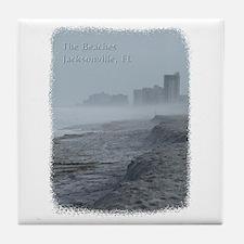 Jacksonville, FL- the Beaches Tile Coaster