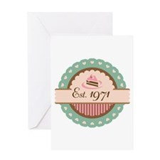 1971 Birth Year Birthday Greeting Card