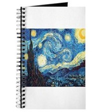 starry night van gogh Journal