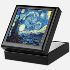 starry night van gogh Keepsake Box