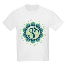 Lotus Aum - Kids T-Shirt