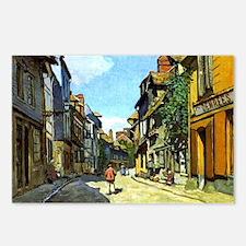 Monet - La Rue Bavolle at Postcards (Package of 8)