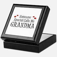 Someone Special Calls Me Grandma Keepsake Box