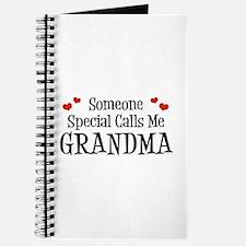 Someone Special Calls Me Grandma Journal