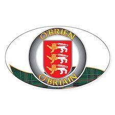 OBrien Clann Stickers
