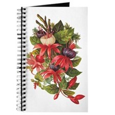 Victorian Floral Bouquet Journal
