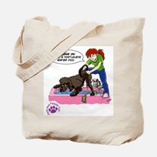 Groomer Humor - Reluctant Bat Tote Bag