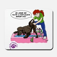 Groomer Humor - Reluctant Bat Mousepad