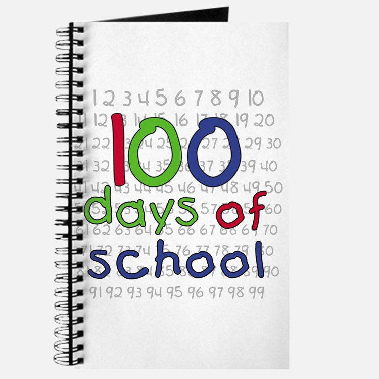 Numbers 100 Days Journal