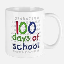 Numbers 100 Days Mug