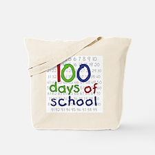 Numbers 100 Days Tote Bag