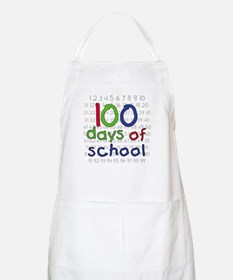 Numbers 100 Days BBQ Apron