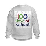 100 days school midsize Crew Neck