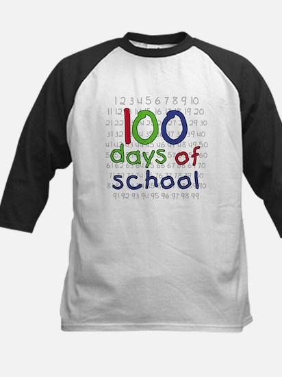 Numbers 100 Days Kids Baseball Jersey
