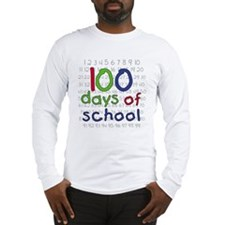Numbers 100 Days Long Sleeve T-Shirt