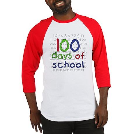 Numbers 100 Days Baseball Jersey