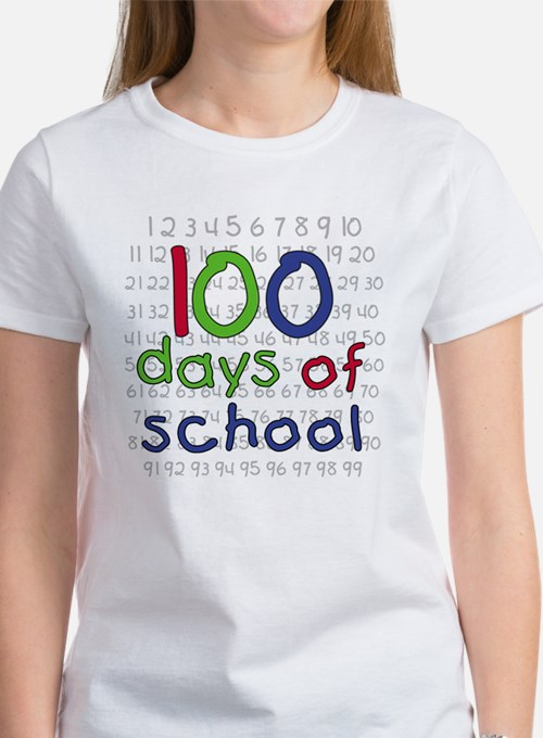 Numbers 100 Days Tee