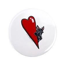 "Love Scotties 3.5"" Button"