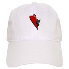 Love Scotties Baseball Cap
