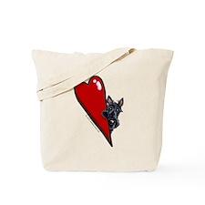 Love Scotties Tote Bag