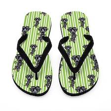 Lucky Scottie Flip Flops