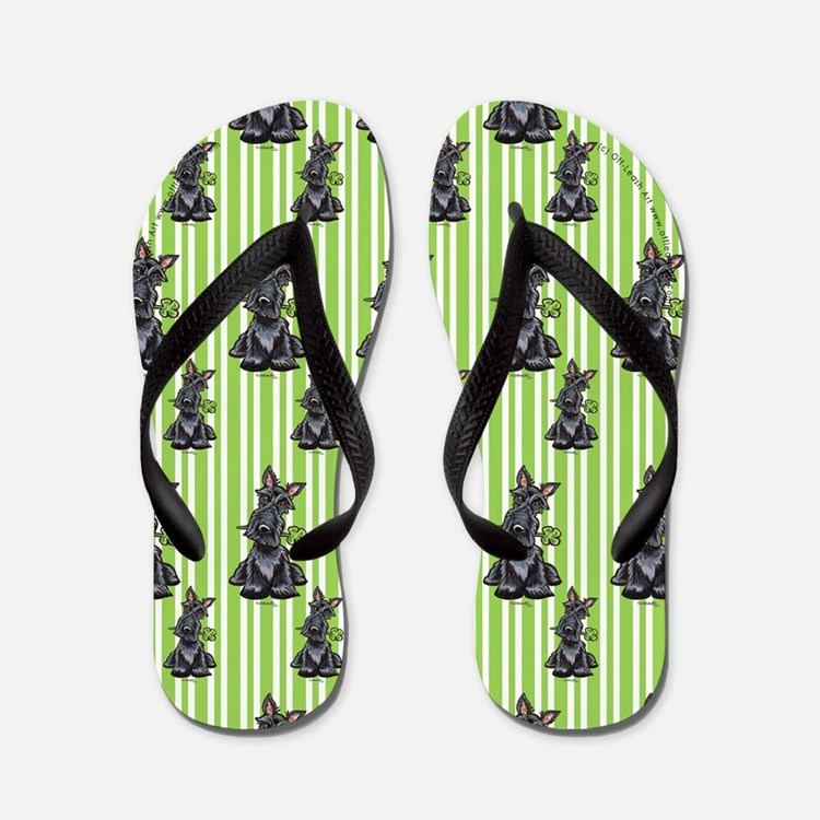 Lucky Scottie Flip Flops
