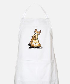 Wheaten Scottie Art Apron