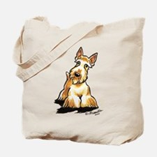 Wheaten Scottie Art Tote Bag