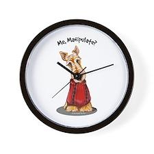Wheaten Scottie Manipulate Wall Clock