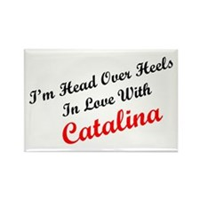 In Love with Catalina Rectangle Magnet (100 pack)