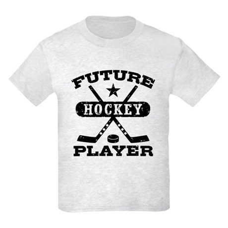 Future Hockey Player Kids Light T-Shirt