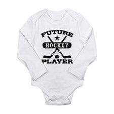 Future Hockey Player Baby Suit