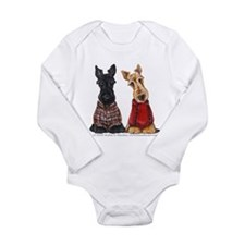 Sweater Scotties Long Sleeve Infant Bodysuit