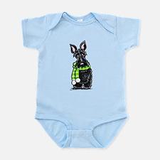 Scottie Scarf Infant Bodysuit