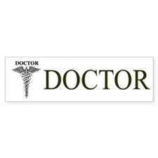 Doctor Bumper Car Sticker Bumper Car Sticker